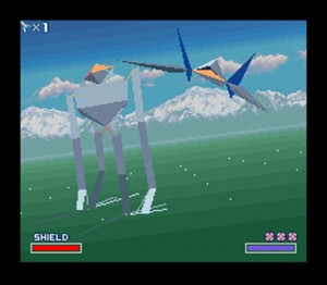 Starfox on the SNES